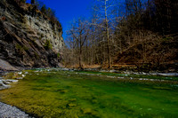 Downstream from Taughannock Falls
